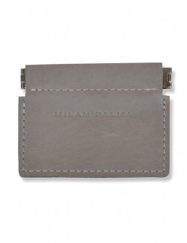 Milan Palma Coin Purse Elephant Grey