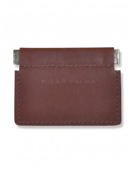 Milan Palma Coin Purse Burgundy