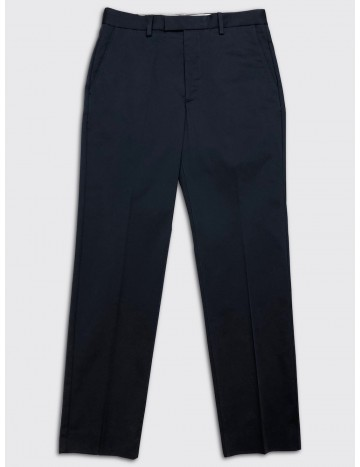 Acne Studios Cotton Stretch Trousers Dark Navy