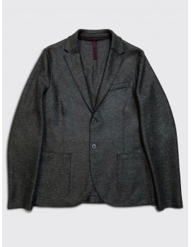 Harris Wharf Light Pressed Wool Blazer Charcoal
