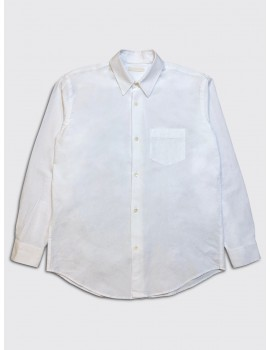 Our Legacy Initial Shirt White Bedsheet Cotton