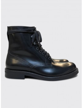 Dries van Noten Commando Boots Black