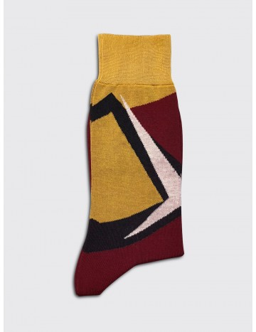 Marni Geometric Socks Red