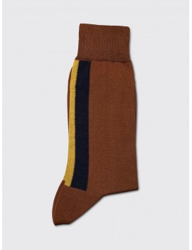 Marni Stripe Socks Camel