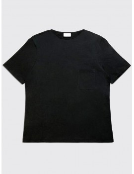 Lemaire Light Tee Shirt Black