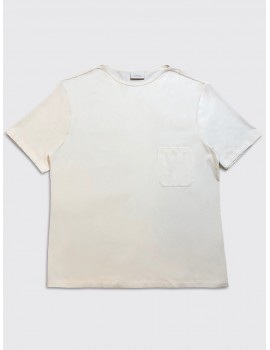 Lemaire Light Tee Shirt Off White