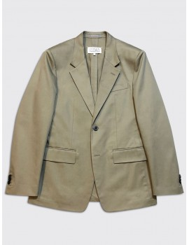Maison Margiela Cotton Gaberdine Suit Beige