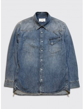 Maison Margiela Vintage Denim Shirt Medium Indigo