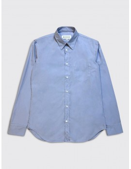 Maison Margiela Garment Dyed Shirt Sky Blue
