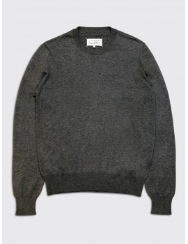 Maison Margiela Elbow Patch Sweater Grey