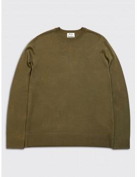 Acne Studios Nami Merino Sweater Dark Navy
