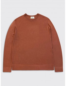 Acne Studios Nami Merino Sweater Ginger Orange