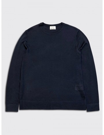 Acne Studios Nami Merino Sweater Navy Blue