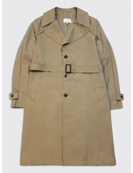 Maison Margiela Decortique Trench Coat Beige