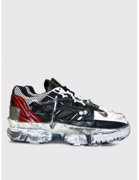 Maison Margiela Fusion Sneaker Red White Black