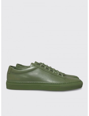281b54a66282 Common Projects Minimalist Original Achilles Low Sneaker Army Green