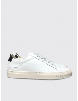 Common Projects Retro Low White