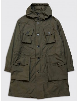 Dries van Noten Vagner Parka Khaki