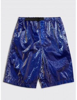 Dries van Noten Piene Short Blue