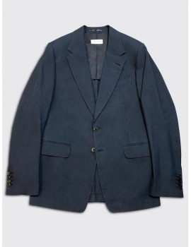 Dries van Noten Burness Bis Jacket Navy