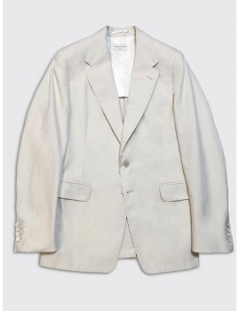 Dries van Noten Burness Bis Jacket Ecru