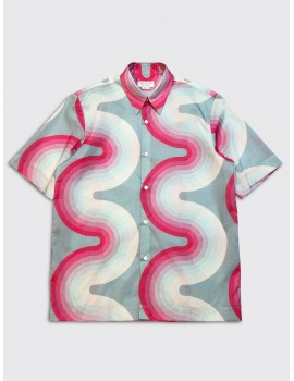 Dries van Noten Verner Panton Clasen Shirt Mint