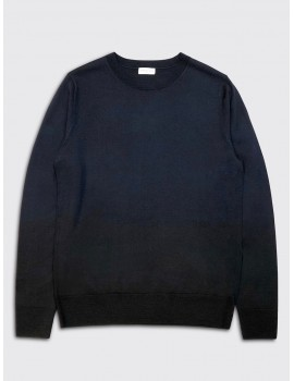 Dries van Noten Nameday Bis Sweater Navy