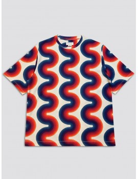 Dries van Noten Verner Panton Honey T-Shirt Ecru