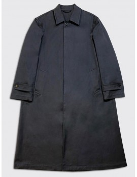 Dries van Noten Rebay Coat Navy