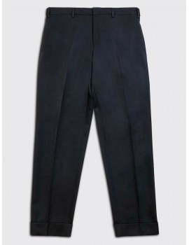 Dries van Noten Philip Trouser Navy