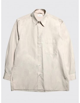 Lemaire Straight Collar Shirt Nude