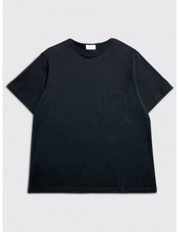Lemaire Short Sleeve T-Shirt Blue Black