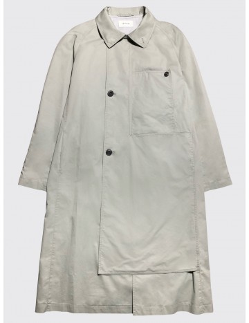 Lemaire Asymetrical Coat Warm Grey