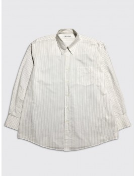 Our Legacy Less Borrowed Shirt Brown Stripe