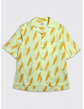 Acne Studios Simon Shirt Mint Green Sunflower Yellow