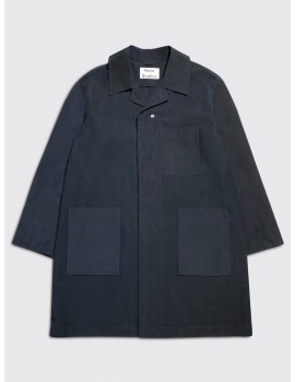 Acne Studios Orel Car Coat Midnight Blue
