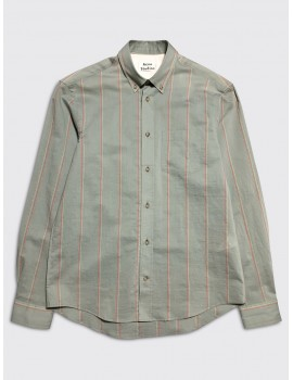 Acne Studios Sarkis Shirt Stone Grey Red