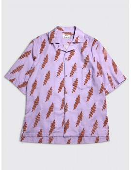 Acne Studios Simon Shirt Pink Ginger Orange