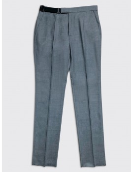 Maison Margiela Wool Poly Trousers Grey
