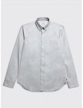 Maison Margiela Tumbled Canvas Shirt Mastic