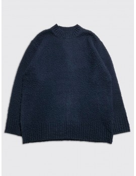 Maison Margiela Oversized Castentino Sweater Navy