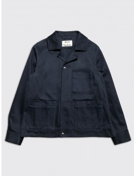 Acne Studios Omar Jacket Navy Blue